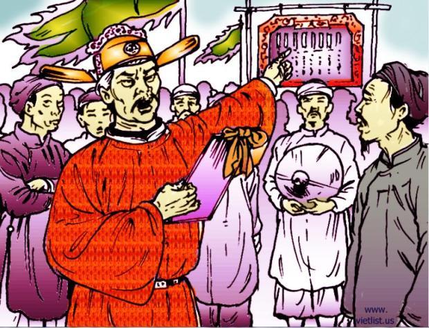Trần Thủ Độ ra lệnh đem gả các cung nhân và con gái họ Lý cho các tù trưởng các bộ tộc ít người ở các vùng núi xa xôi miền biên ...